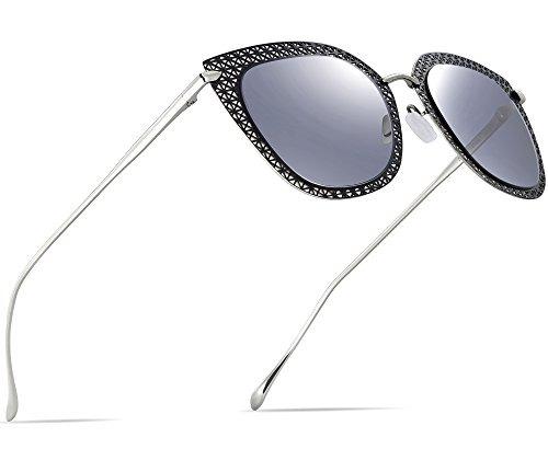 c137abdf2 attcl womens hot metal frame moda wayfarer style vintage gaf