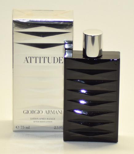 attitude lotion after shave giorgio armani 75ml