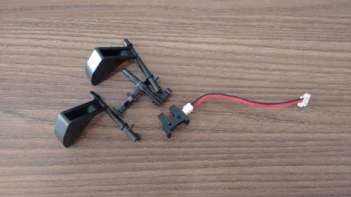 atuadores e sensor de entrada de papel xerox 6110 mpf