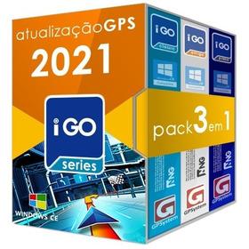 Atualização Gps 3 Navegadores Igo8 Amigo Primo + Suporte