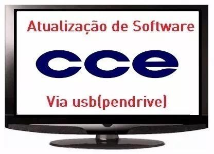 atualização de software firmware tv cce lt29g via usb