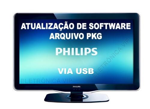 atualização de software pkg tv philips 32phg5000/78