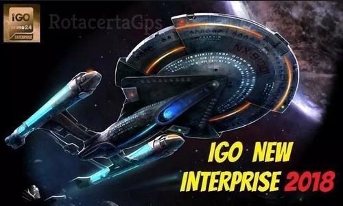 atualização gps igo enterprise 2018.q2 aviso de farois