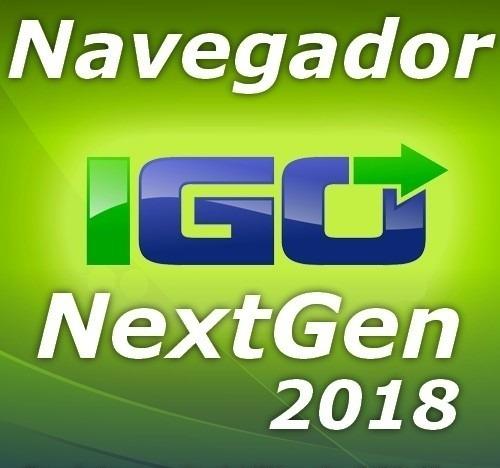 Atualização Gps Igo Nextgen - Android 2018 q2 Novembro