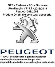 Atualização Gps + Mapas + Rads + Poi Peugeot 208/2008 V111 2