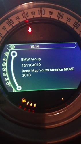 atualização gps mini cooper mapa move