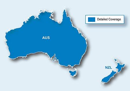 mapa australia e nova zelandia Atualização Mapa Australia, Nova Zelandia Gps 2580   R$ 119,50 em  mapa australia e nova zelandia