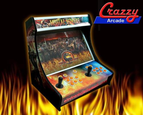atualização pc mini fliperama jogos arcade multijogos bartop
