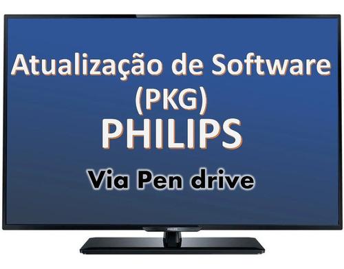 atualização software - pkg tv philips 48pfg5100/78