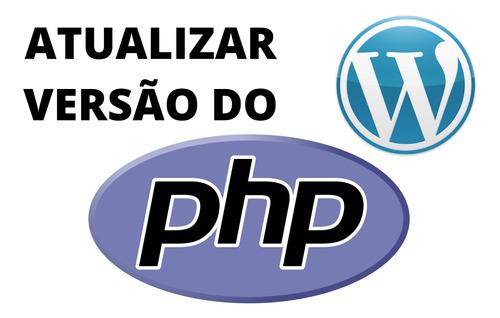 atualizar versão do php no painel wordpress do cpanel