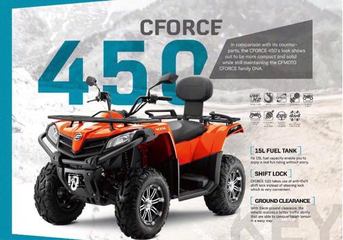 atv cf moto 550 automatico 4x4 2018 winbishi super oferta!!
