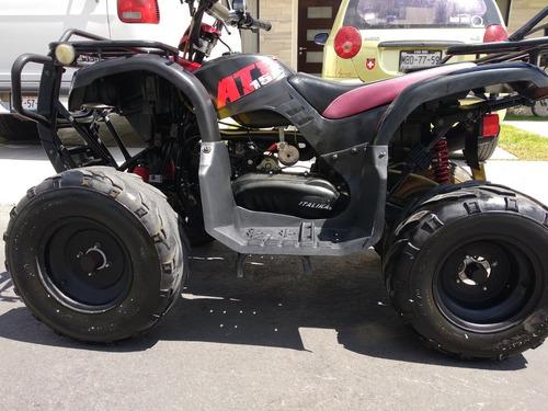 atv cuatrimoto  italika 150 cc