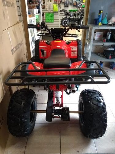 atv cuatrimoto nuevo 125cc rojo juvenil