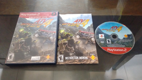 atv offroad fury 4 completo para play station 2