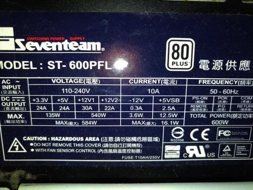 atx 600w fonte seventeam