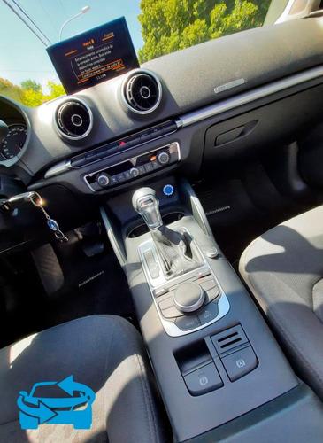 audi a3 1.4t sedan stronic c/ techo 2016 **impecable**