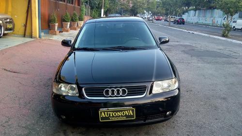 audi a3 1.8 2003 aut 5p couro rodas revisado bx km novissimo