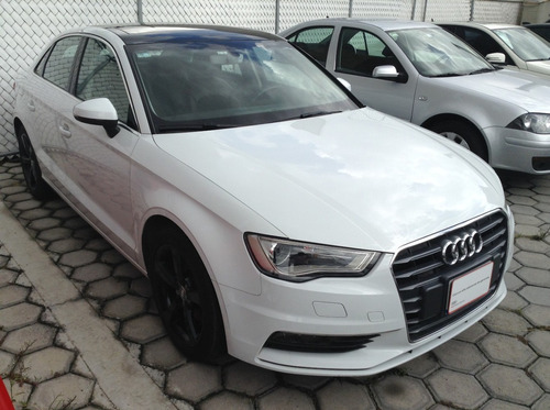 audi a3 1.8 sedán attraction at 2016 blanco s: g1063975
