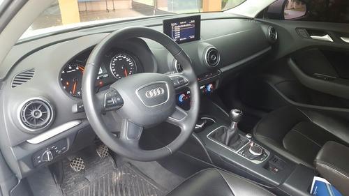 audi a3 2014 1.4 turbo manual cuero y techo panoramico