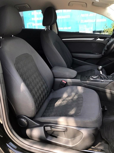 audi a3 ambiente 1.4 tfsi 125 hp manual front 2015 negro