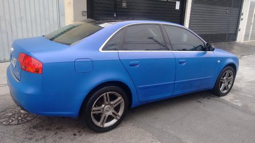audi a4 1.8 exclusive turbo multitronic 4p azul envelopado