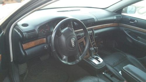 audi a4 2.4 aut. 4p 1998 preto partes peças ou inteiro v6