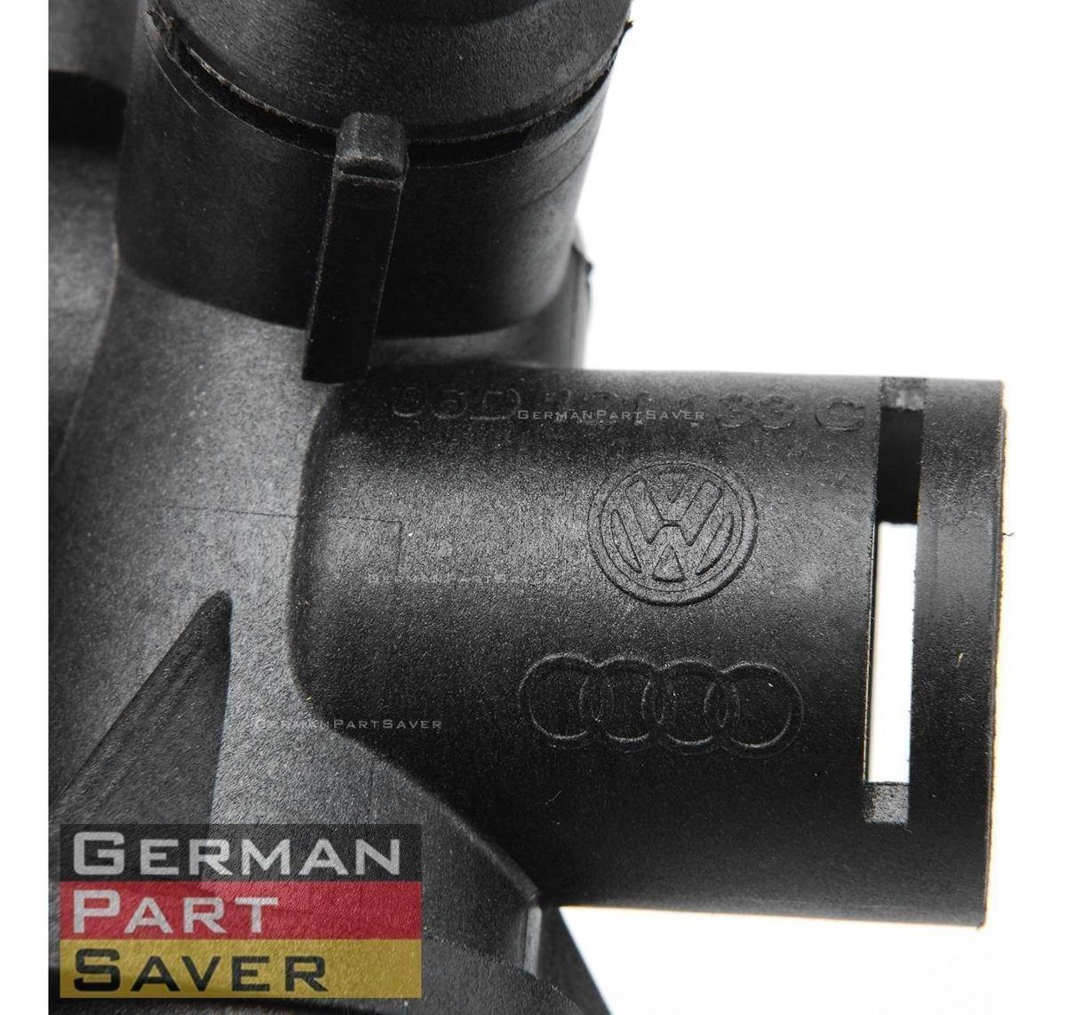 Genuine For Audi A4 A6 Quattro 2.0L Turbo Engine Coolant Flange Water 06D121132C