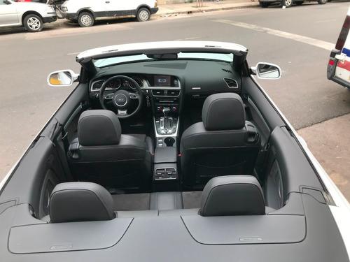 audi a5 3.0 tfsi quattro cabrio sistema apr 2013 única!!!!