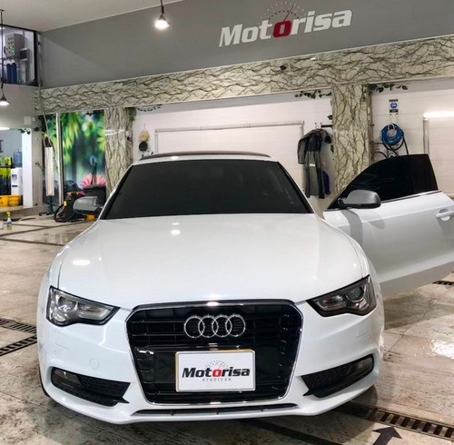 audi a5 coupe 1.8 turbo blanco