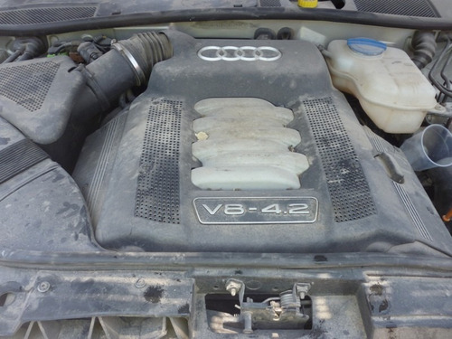 audi a6 2005 accidentado,motor 4.2 v8,automatico