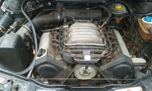 audi a6 2.8 v6 12v 1995 sucata p peças motor câmbio automát