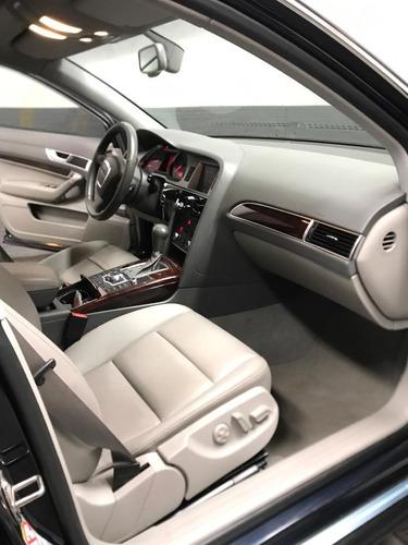 audi a6 2.8l motor v6 2008 azul noche 4 puertas
