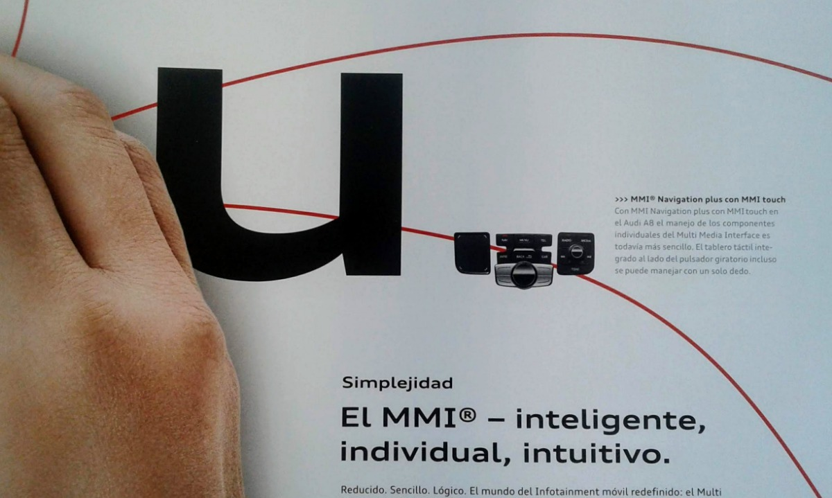Audi A8 2015 Catálogo Publicitario Original De Agencia 49000