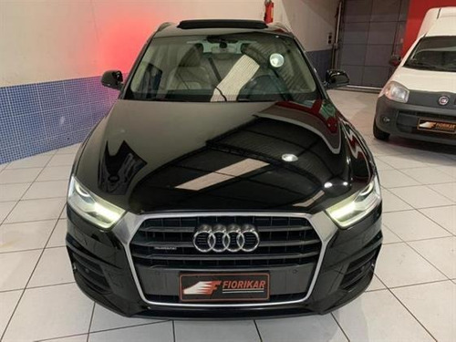 audi q3 2.0 tfsi attraction s tronic completa impecável