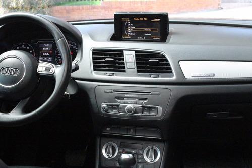 audi q3 2.0 tfsi luxury 2013, caja stronic, turbo, 5 puertas