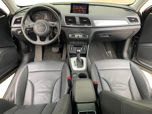 audi q3 ambition-1.4 turbo -2017 - blindada - 59.000 kms