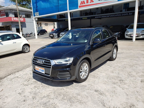 audi q3 attraction quattro 2.0 turbo 2016 blindado novíssimo