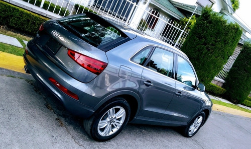 audi q3 luxury 2015  unico dueño factura original