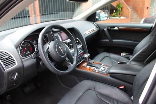 audi q7 v6 3.0 tfsi luxury 2014, turbo, único dueño 20mil km
