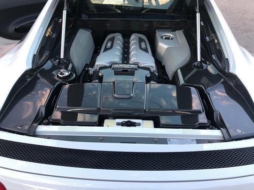 audi r8 v10 plus 5.2 fsi 550 hp stronic 2015 gris suzuka