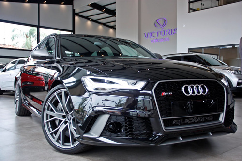 audi rs6 4.0 avant v8 32v bi-turbo gasolina 4p tiptronic