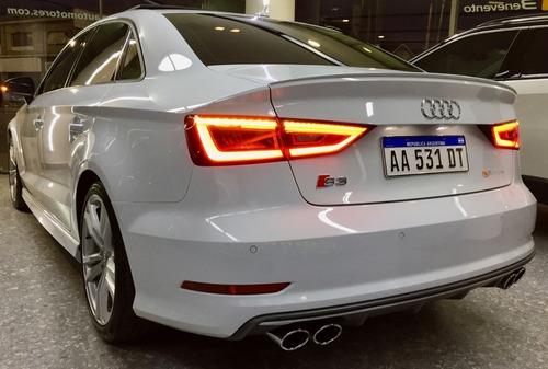 audi s3 2.0 tfsi stronic quattro 300cv sedan 4 puertas 2016
