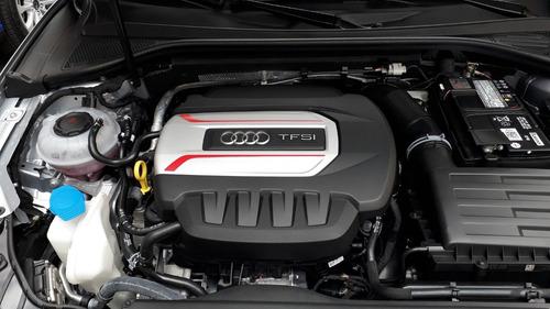 audi s3 2.0 tfsi stronic quattro 300cv sedan plata y rojo