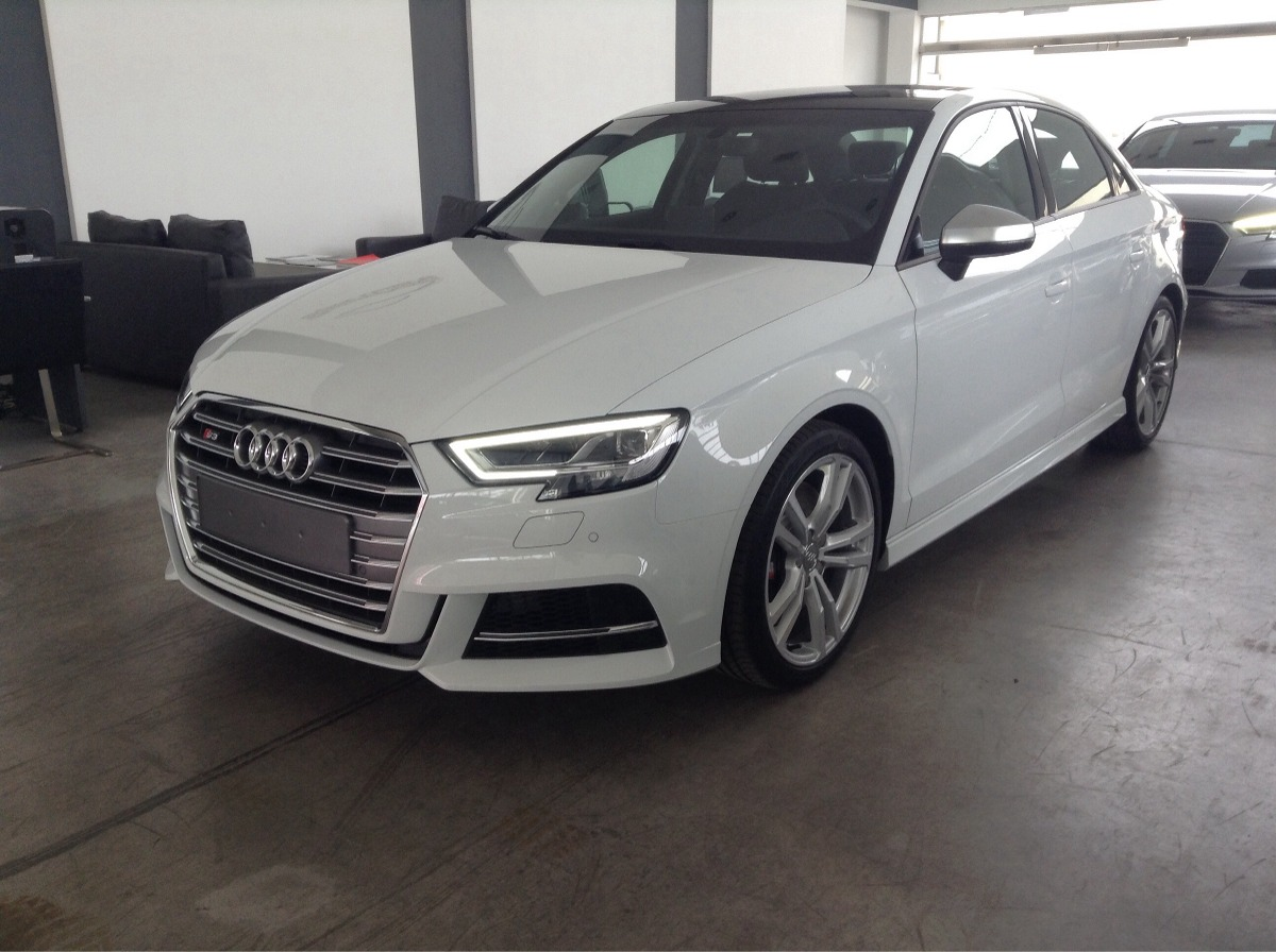audi s3 sedan 4 puertas 310cv 0km 2018 blanco negro automati u s en mercado libre. Black Bedroom Furniture Sets. Home Design Ideas
