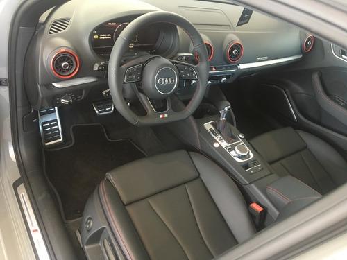 audi s3 sedan quattro, gris cuántico, 2020, 2.0 290 hp