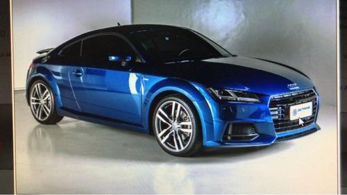 audi tt 2.0 tfsi ambition 2p gasolina 2016 azul