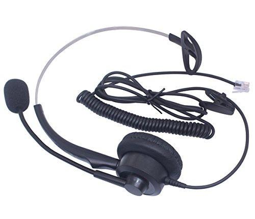 audicom corded centro de llamadas headset auricular con micr