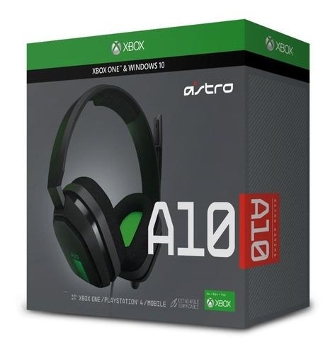 audífono astro a10 grey/green