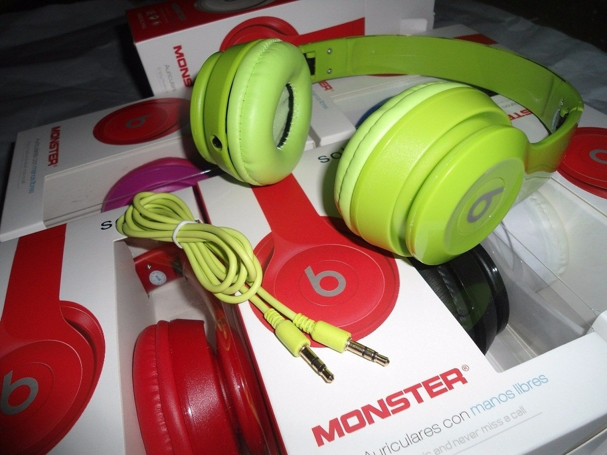 b39808dc18b Audifono Beats Solo 2 Studio Dr Dre Monster Hd Pc Laptop Mp3 - Bs ...