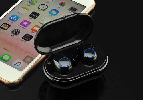 audífono bluetooth 5.0 a1-tws manos libres + base magnética